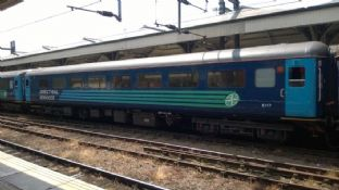 Direct Rail Services Mark 2 Hauled Set (4 coach) - N